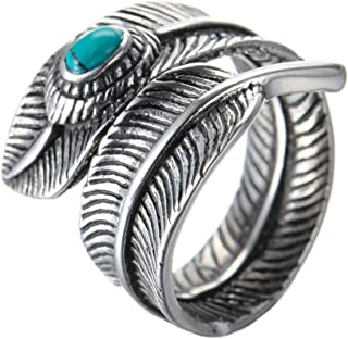 Best stainless steel turquoise ring Reviews