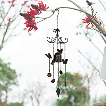 JOBOSI Angel Wind Chimes Wind Chimes Outdoor Copper Wind Chimes Memorial Wind Chimes Gifts for Women Garden Decor Wind Bell Gifts for mom