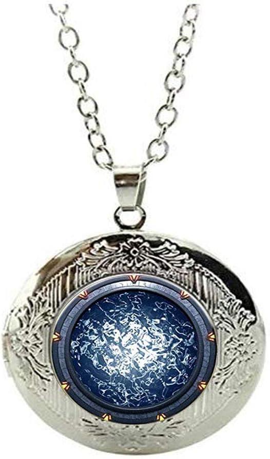 Stargate Atlantis Charlotte Mall Locket Necklace Super beauty product restock quality top! Art Jewelry Frie Charm