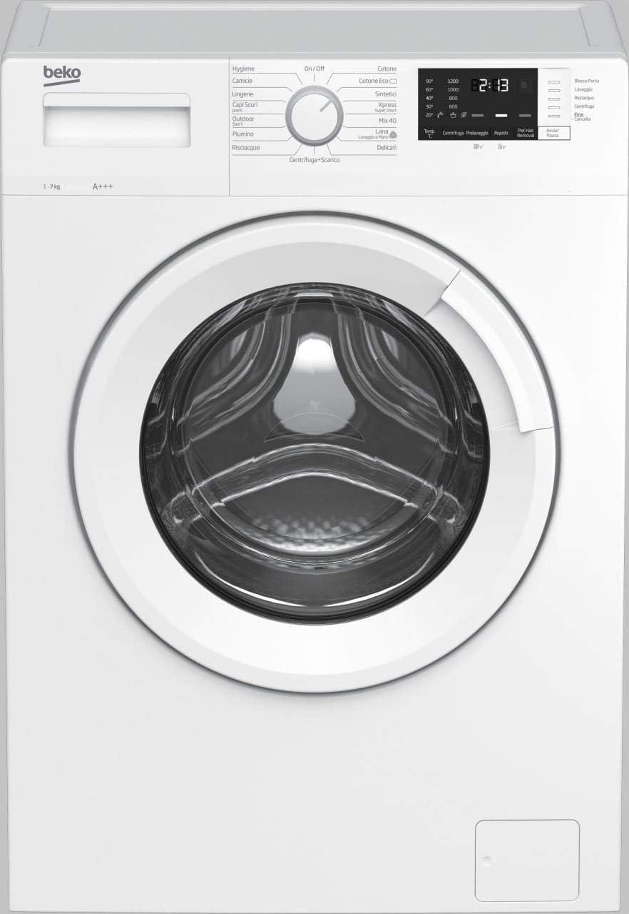 Beko WUX71032W/IT lavatrice Libera installazione Caricamento frontale 7 kg 1000