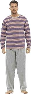 Tom Franks Mens Long Sleeve Top Nightwear Pyjamas Nightwear Set Trousers Lounge Wear