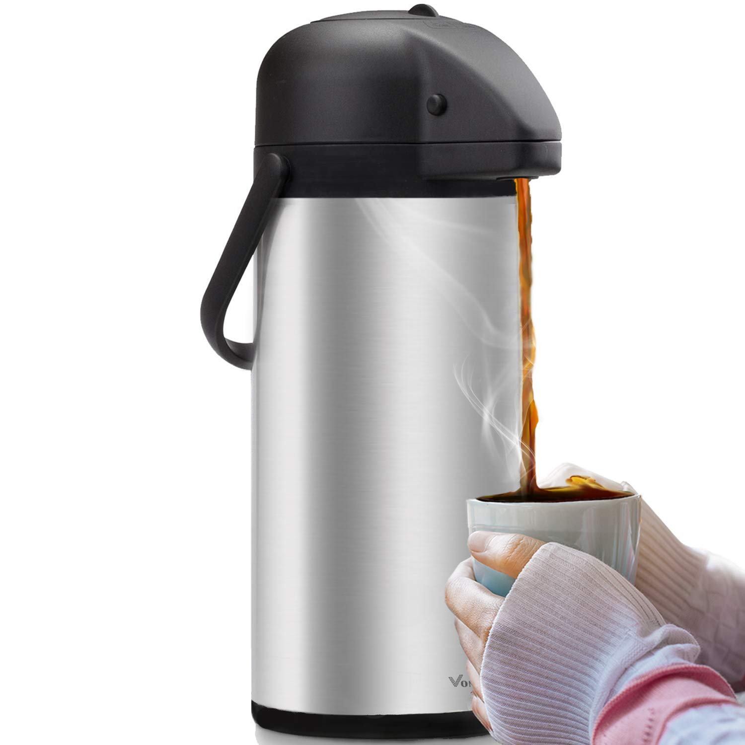 Coffee Carafe Thermos Dispenser Insulated