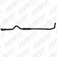 MBRP S6200BLK Black Coated Turbo Back Single Side Exit Exhaust System
