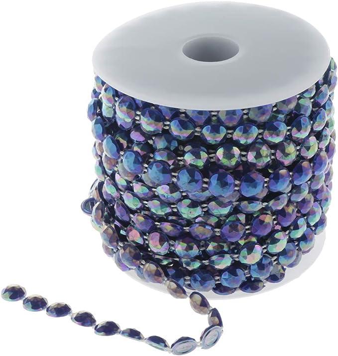 Silber Perlengirlande Perlenband Hochzeitsdeko Perlen Tischdeko Wohnkultur