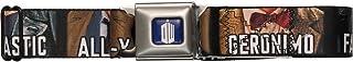 Doctor Who Fantastic Geronimo Allons-Y Seatbelt Mesh Belt