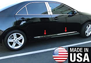 Made in USA! Works with 2012-2014 Toyota Camry Accent Side Molding Body Trim 1 1/2'' Wide 4PC