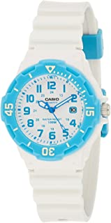 Casio Lrw-200H-2B Women's Watch Analogue Quartz Resin, White Band