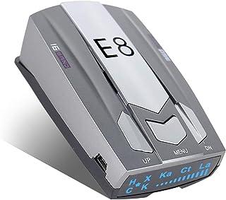 Radar Detector for Cars, E8 Laser Radar Detectors Voice Alert and Vehicle Speed Alarm System City/Highway Mode Radar Detec...
