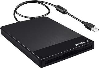 Diskettläsare, extern diskettenhet, lämplig för PC Windows Mac, 3,5-tums USB bärbar diskettenhet 1,44 MB FDD, USB-diskettl...