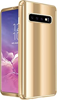 Qissy Compatible with Case Samsung Galaxy S10/Galaxy S10 Plus, 3 in 1 Slim Hybrid Hard Cover Shockproof Case for Galaxy S10e Galaxy S10 Plus Multi