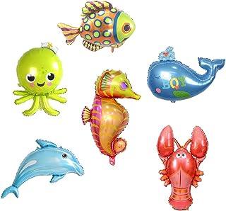 Oktopus Krake Luftballons xxl Folienballon Geburtstag Helium Party Supershape