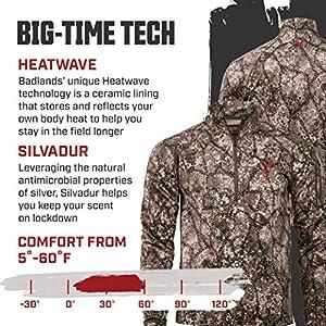 Badlands Calor 14 Zip Hunting Base Layer