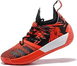 Jun hua Mens Harden Vol 2 Mi Basketball Shoes Red Black
