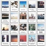 Set de 20 tarjetas postales'Inspiration' con frases de Inspiración en el diseño polaroid de INDIVIDUAL NOMAD