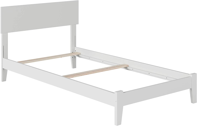 Atlantic Furniture Orlando Traditional Bed, Twin, White