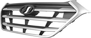 APS Compatible with 2015-2020 Dodge Challenger Phantom Without Adaptive Cruise Control Stainless Steel Black Horizontal Billet Grille Insert Combo D61164J