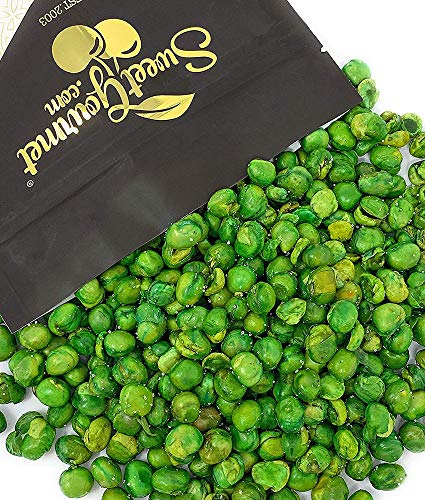 SweetGourmet Roasted & Salted Green Peas   Healthy Snacks   2 Pounds