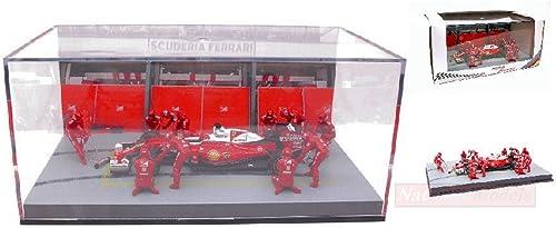 venta directa de fábrica Produttori Vari MMBAL02 Pit Pit Pit Stop Diorama Scuderia Ferrari 2016 1 43 Die Cast Compatible con  tienda en linea