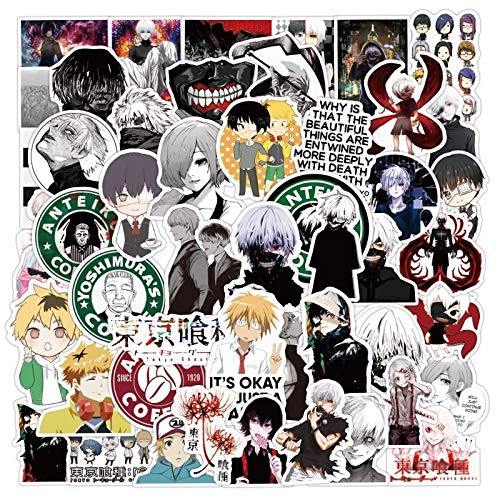 HENJIA Anime Sticker For Luggage Laptop Skateboard Bicycle Backpack Decal Pegatinas Toy For Children Gift50Pcs