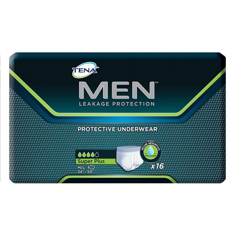 SQ81780PK - TENA Men Protective Underwear Plus Under blast sales Medium Super La Cheap SALE Start