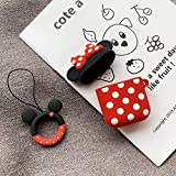 Airpods Schutzhülle Für Cartoon Silikon Wireless Bluetooth Headset Hülle Anti-Wrestling Ring Lanyard Universal 1-2 Generation Airpods Minnie