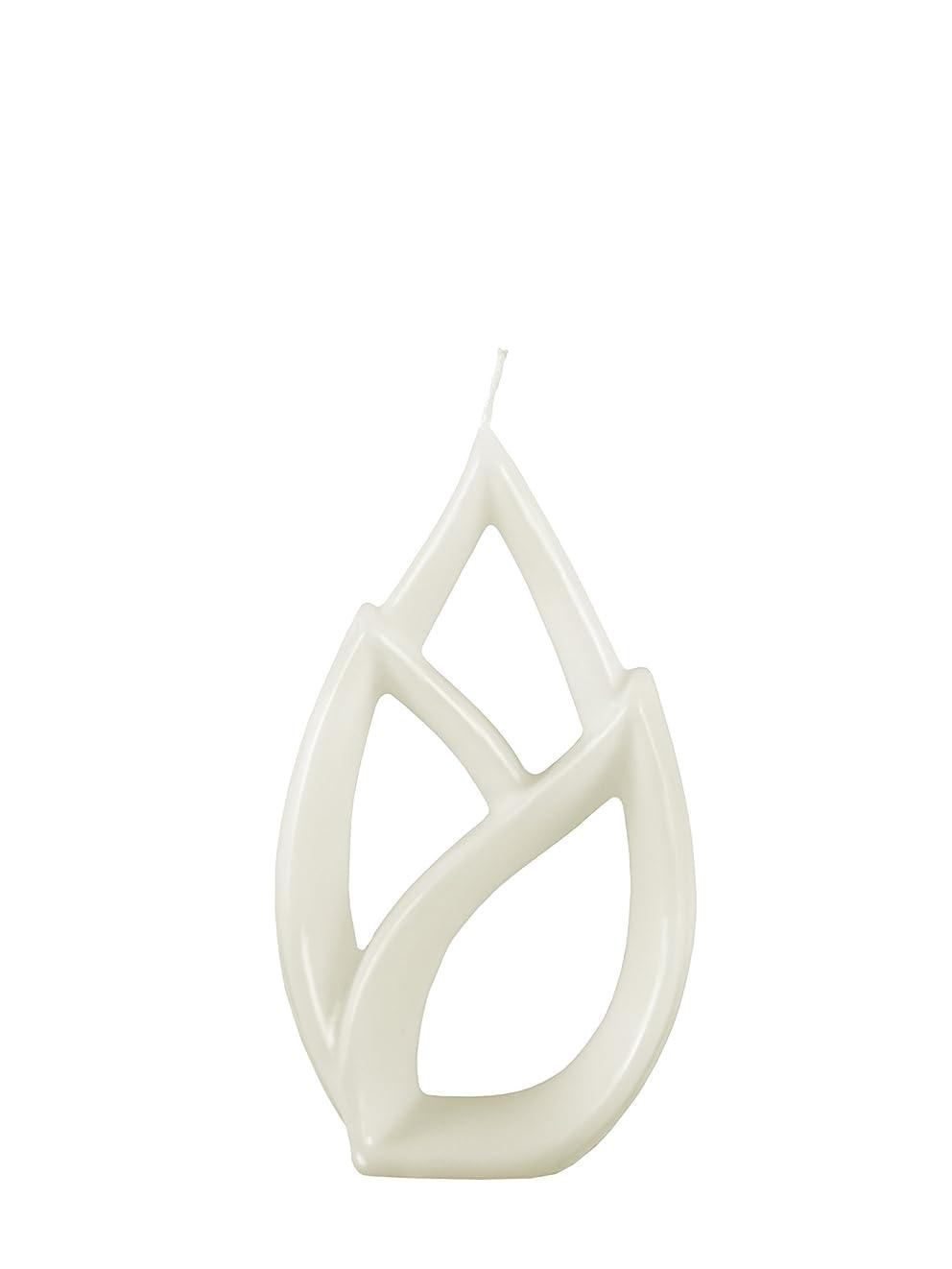 光沢採用する大量Alusi Multiflame Candle Livia Petit White, Vanilla Scent