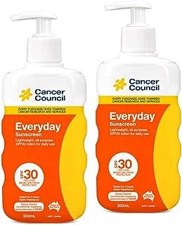 2x Cancer Council Everyday Sunscreen SPF 30 Pump 200mL
