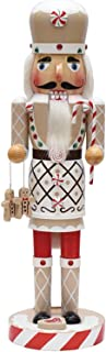 """NORTHLIGHT F97200 14"""" Gingerbread Kisses White, Red an"""