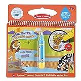 Coussins d'activité réutilisables de l'eau-Reveal album magique de peinture de dessin de livre de coloriage de l'eau avec le stylo rechargeable enfants jouets d'apprentissage(# 2)