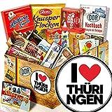 I Love Thüringen / Süßigkeiten Set DDR / Thüringen Geschenk