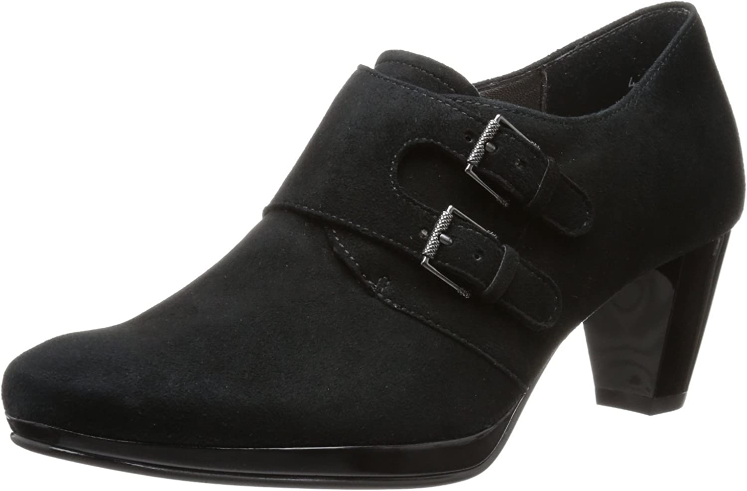 ARA Treva Black Suede US 5 Wide