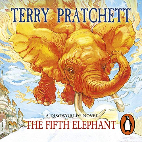 The Fifth Elephant audiobook cover art