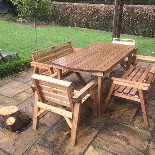 Wooden Patio Furniture Amazoncouk