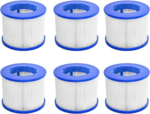 CosySpa Filtre pour Jacuzzi Spa Gonflable Cartouche Filtration Standard et Vissées pour Spa | Pack de 1, 6 et 12 | Co...