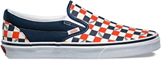 Vans Classic Slip On US Open Navy/Checkerboard Men's Skate Shoes Size 7.5
