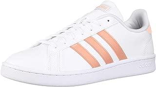 adidas Women's Grand Court, dust Pink/White, 9.5 M US
