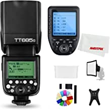 Godox TT685S 2.4G HSS TTL GN60 Flash Speedlite+ Xpro-S Trigger Transmitter Kit Compatible for Sony A58 A7RII A7II A99 A9 A7R A6300