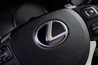 【LEXUS車専用】LXステアリングエンブレムカラードベース TYPE-1 グラデーションブルー