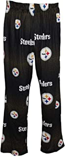 FOCO Pittsburgh Steelers Men's Scatter Pattern Pajama Lounge Multi Color Pants