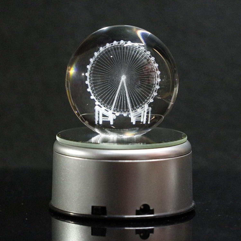 Prbll Ornamente LED Kristallkugel Spieluhr Mit 18 Musik Dekoration blueeme Liebe Spieluhr Kinder Spielzeug Valentinstag