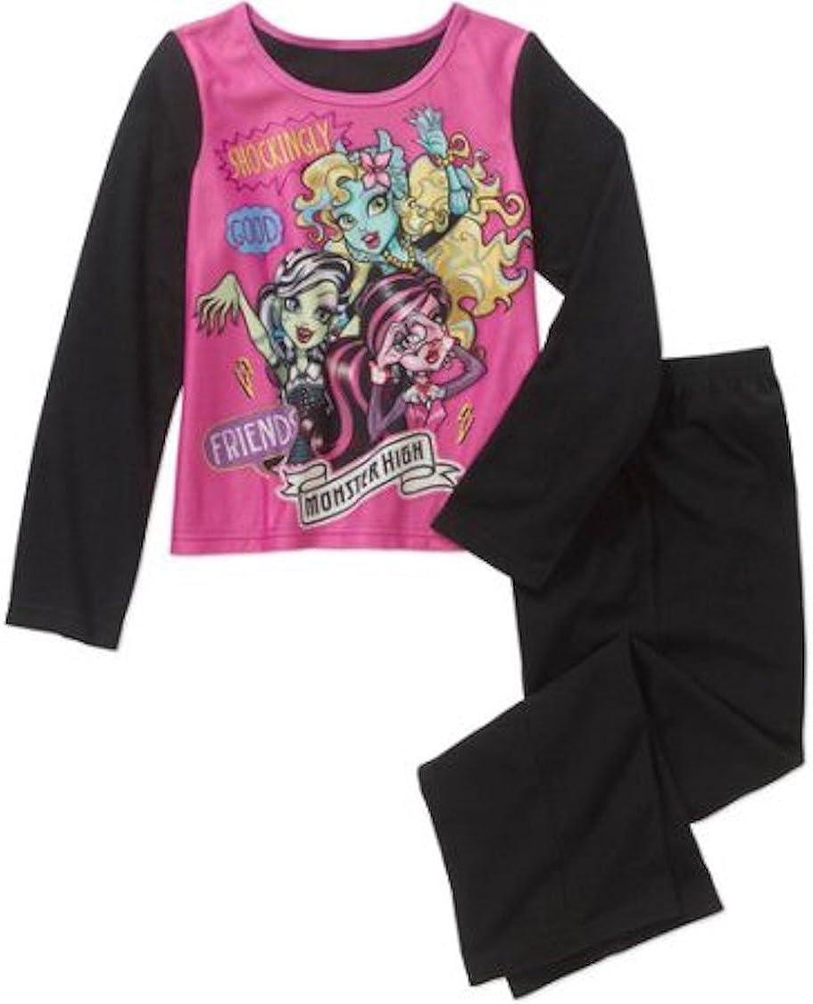 Monster High Licensed Flannel Boys 2 Piece Pajama Set