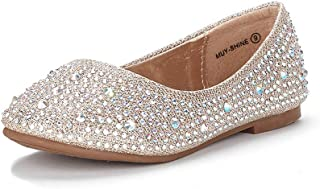 Muy Girls Dress Shoes Slip on Ballerina Flats
