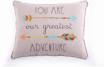 Levtex Home Baby Pillow, You are Our Greatest Adventure