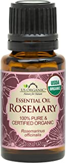 Sponsored Ad - US Organic 100% Pure Rosemary Essential Oil - USDA Certified Organic, Steam Distilled - 15 ml (More Size Va...