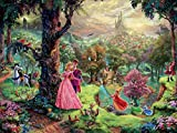 Ceaco Thomas Kinkade The Disney Collection Sleeping Beauty Jigsaw Puzzle, 750 Pieces