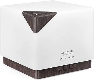 Essential Oil Diffuser, ASAKUKI 700ml Premium 5 In 1 Ultrasonic Aromatherapy Fragrant Oil Vaporizer Humidifier, Timer and ...