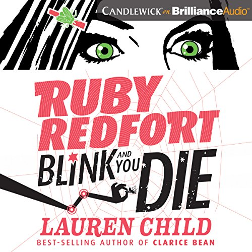 Ruby Redfort Blink and You Die audiobook cover art