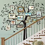 Simple Shapes Staircase Family Tree Wall Decal Tree...
