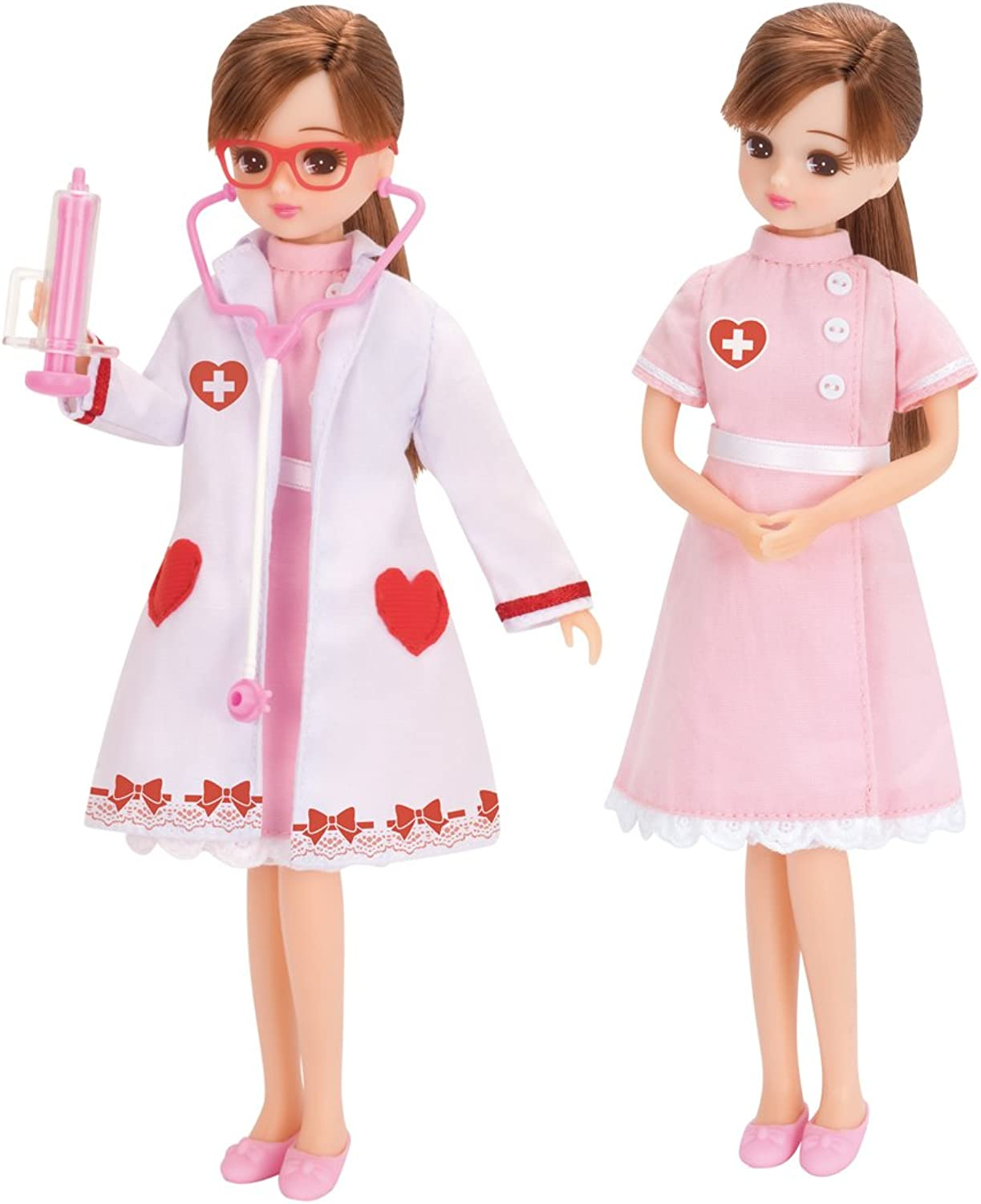 Licca Licca Licca Chan Hospital Doctor Accessories and Clothes Set
