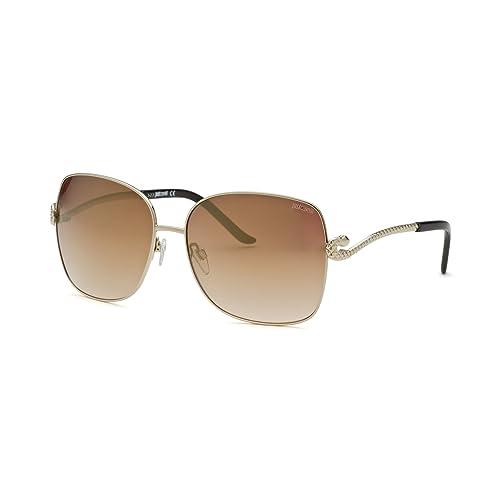 ac4cda463c Just Cavalli Women s JC636S Metal Sunglasses BROWN 60